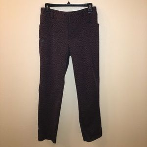 Ankle length stretch pants